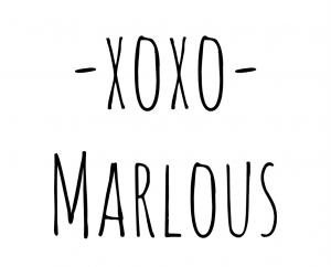 xoxo Marlous
